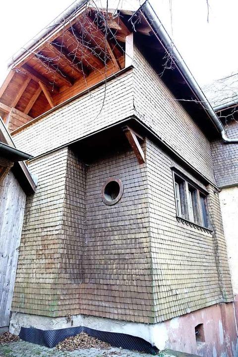Der Synagogenanbau, der an den frühere...schließt, ist ebenfalls noch erhalten.  | Foto: Klaus Riexinger