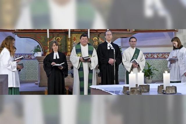 Gottesdienst über Grenzen