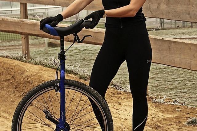 Champion auf einem Rad