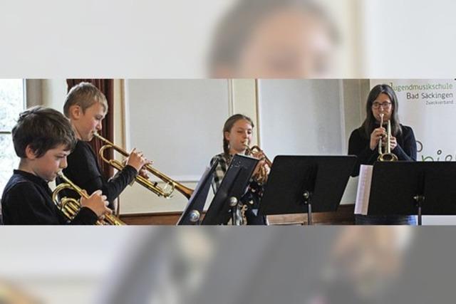 Musikschüler wollen hoch hinaus