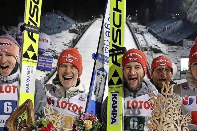 Skisprung-Triumph in Zakopane