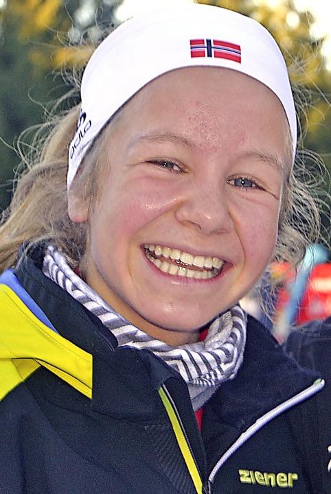 Knapp am Sieg vorbei: Leonie Maier von der WSG Feldberg    | Foto: Junkel