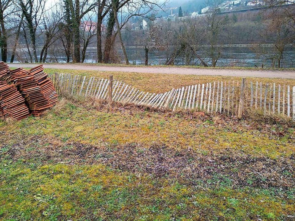 Der beschädigte Zaun  | Foto: Verein Stadtoasen