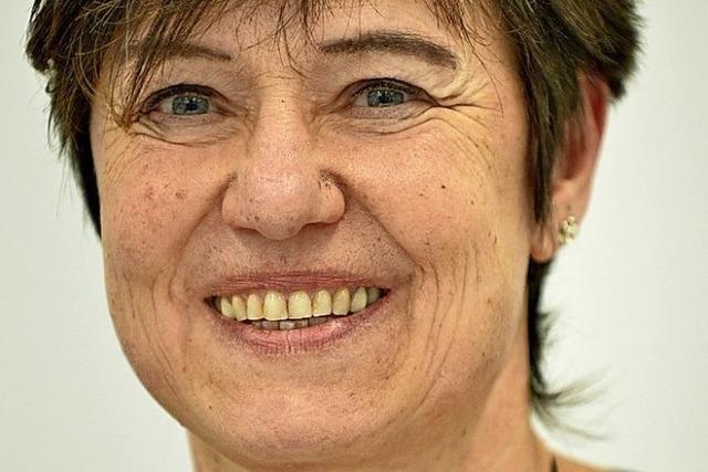 Birgit Frauhammer, Krankenpflegerin an der Uniklinik, zum Pflege-Stammtisch