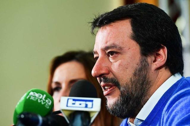 Salvinis langer Schatten