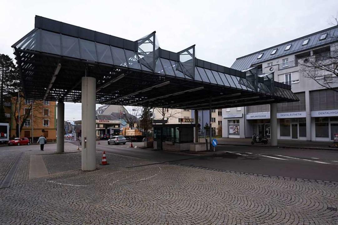 Noch sieht es an der Grenze zur Schweiz aus wie auf diesem Bild.  | Foto: Ansgar Taschinski