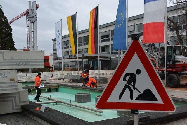 Die Erweiterung des Rathauses in Weil am Rhein beginnt