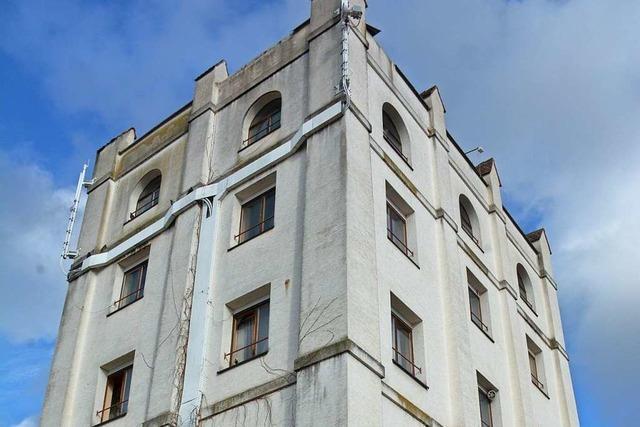 Turm in Altweil wird zu Wohngebäude umgebaut