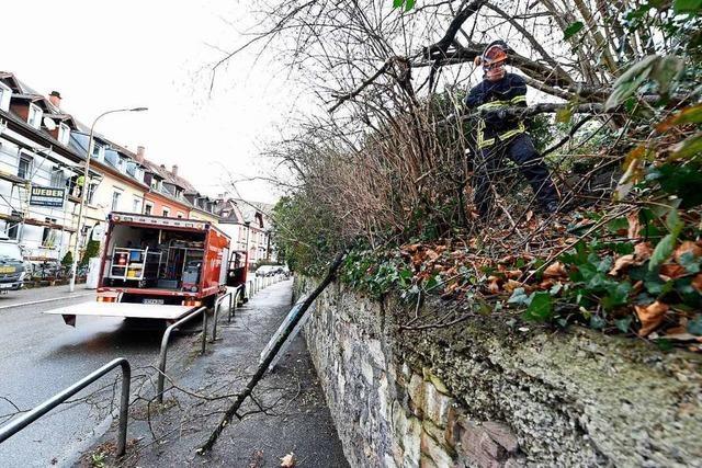 Einsatzkräfte in Freiburg waren auf Schlimmeres vorbereitet