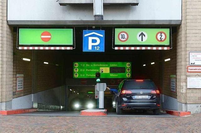 Parken in städtischen Parkhäusern wird im Frühjahr um zehn Prozent teurer