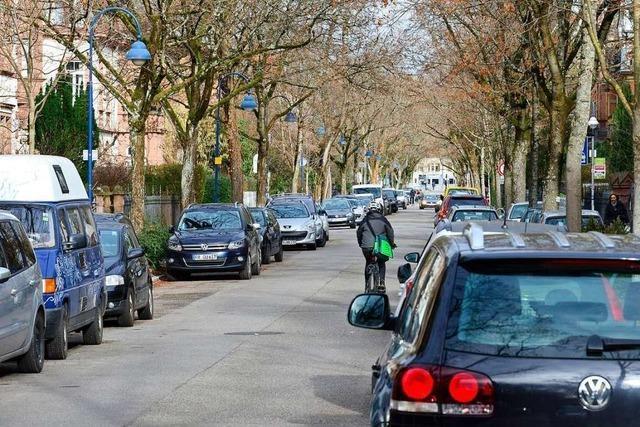 Weniger Parkplätze in der Goethestraße – für mehr Sicherheit beim Radeln