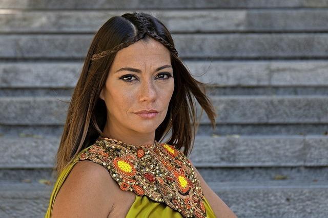 Die Portugiesin Filipa Cardoso gastiert im Schlachthof