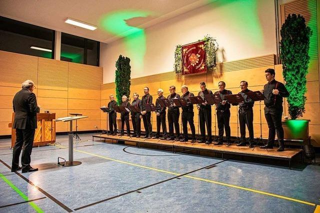 Ein facettenreicher Abend mit dem Männergesangverein Pfaffenweiler und seinen Gästen