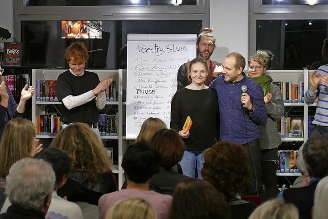 Bad Krozingen begründet eine Poetry-Slam-Tradition
