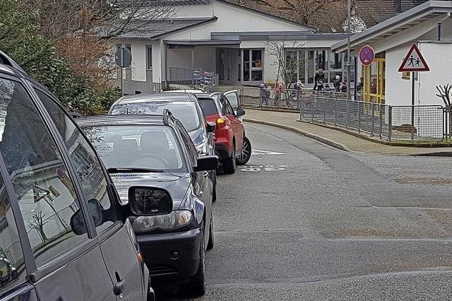 Ersatzlösung fürs Parken beim Kindergarten