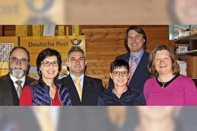 20 Jahre Postagentur im Rathaus