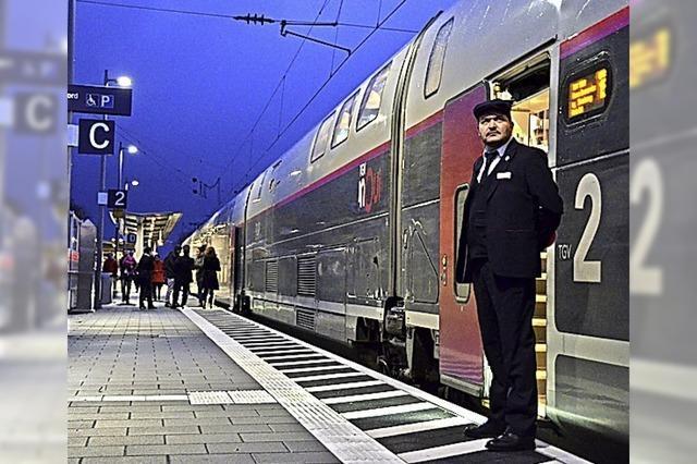 TGV-Halt in Lahr: Die SNCF ist am Zug