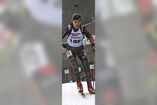 Emilie Behringer holt Staffelbronze