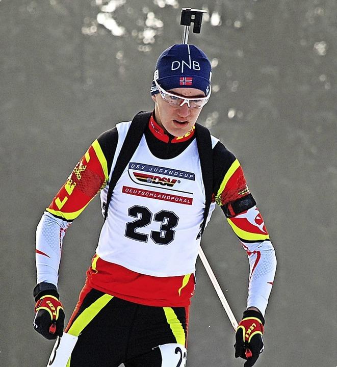 Fabian Kaskel ist zwei Jahre jünger al...bei der Jugend-WM eifrig Erfahrungen.   | Foto: Ruoff