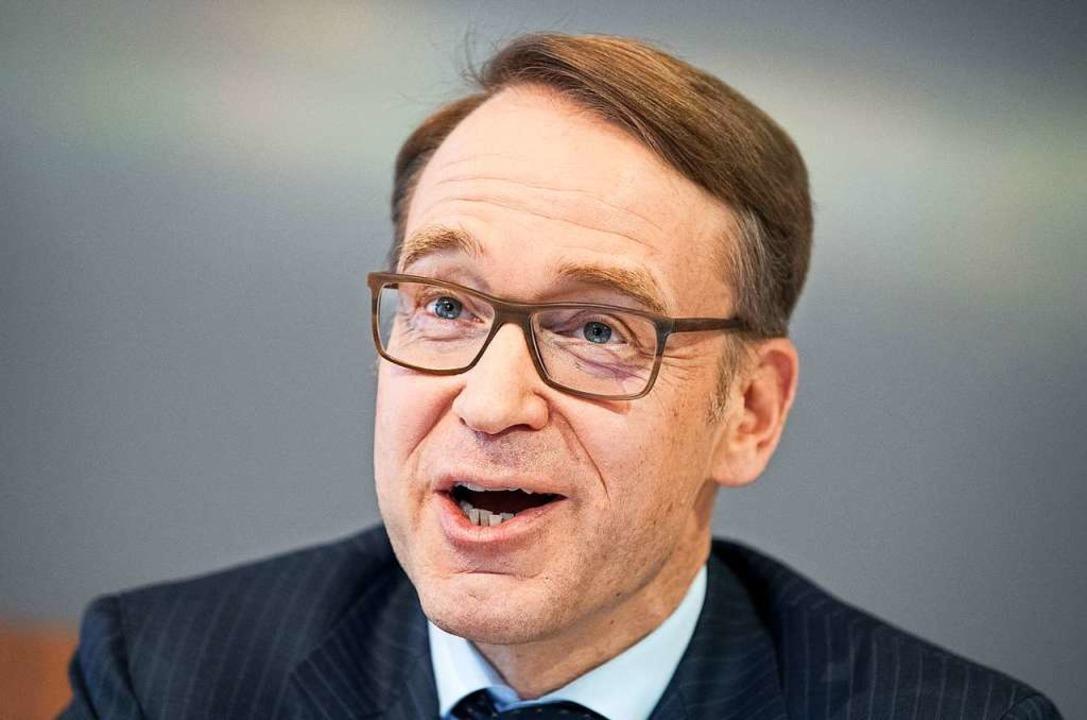 Bundesbankchef Jens Weidmann  | Foto: Fabian Sommer