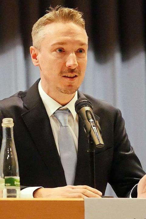 Ricky Zinn möchte der Stimme des Nachw...in Schallstadt mehr Gewicht verleihen.  | Foto: Jannik Jürgens