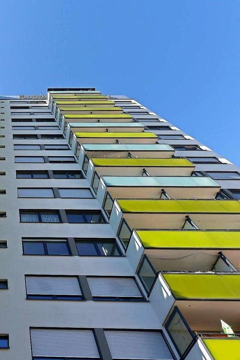 Auch das Passivhaus Bugginger Straße 5...r kommunalen Wohnungsbaugestellschaft.  | Foto: Ingo Schneider