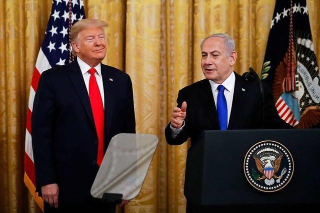 Trumps Nahost-Plan ist wenig glaubhaft