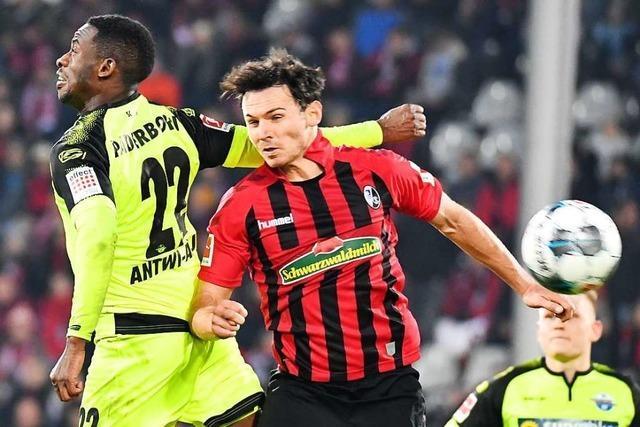 Nicolas Höfler verlängert seinen Vertrag beim SC Freiburg