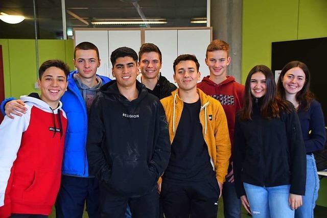 Schüler aus Chile sind am Gundelfingen Albert-Schweitzer-Gymnasium zu Gast