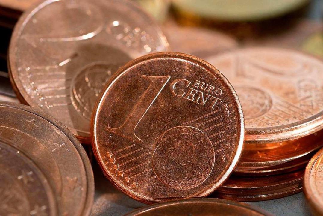 Centmünzen sind nicht überall so beliebt wie in Deutschland.  | Foto: Karlheinz Schindler (dpa)