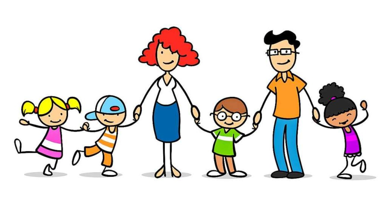 In einer Familie sind die Kinder nicht... Eltern, manche Kinder sind adoptiert.    Foto: Robert Kneschke
