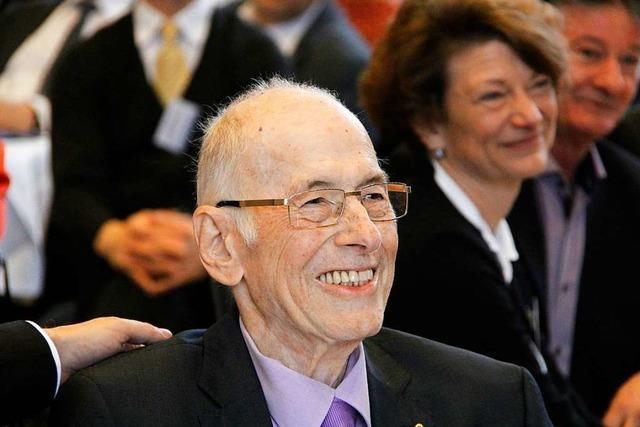 Bad Krozingens Ehrenbürger Fritz Hanser ist gestorben