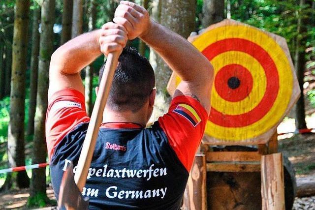 Weltmeisterschaft im Axtwerfen dieses Jahr in Herrischried