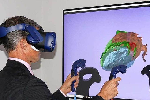 Südbadische Radiologen bereiten Herz-OPs mit Virtual Reality vor