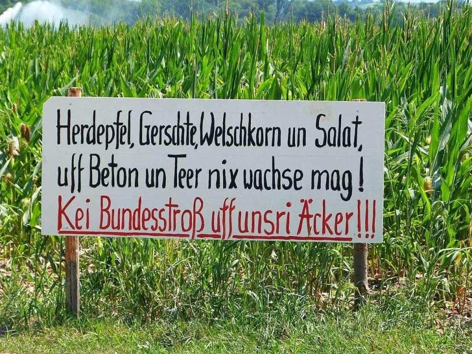 Der Breisacher Gemeinderat machte sich... eigen und lehnte diese einstimmig ab.  | Foto: Christine Weirich