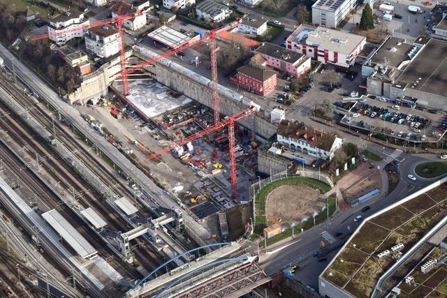 Dreiländergalerie in Weil am Rhein soll im Herbst 2021 fertig werden
