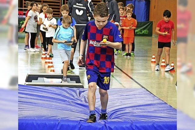 Balanceakt im Sportunterricht