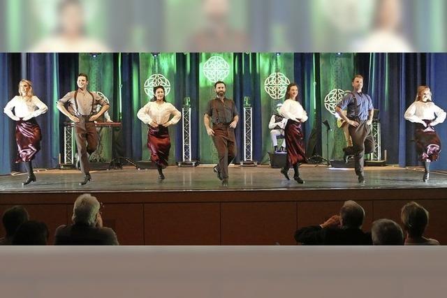 Die Iren wurden im Kurhaus wieder frenetisch gefeiert