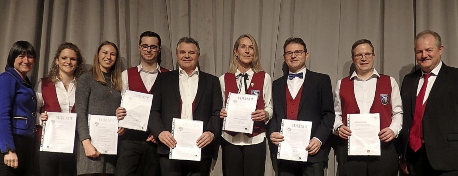 Langjährige Mitglieder sind eine Stütze des HC Sulzburg.     Foto: Bianca Flier
