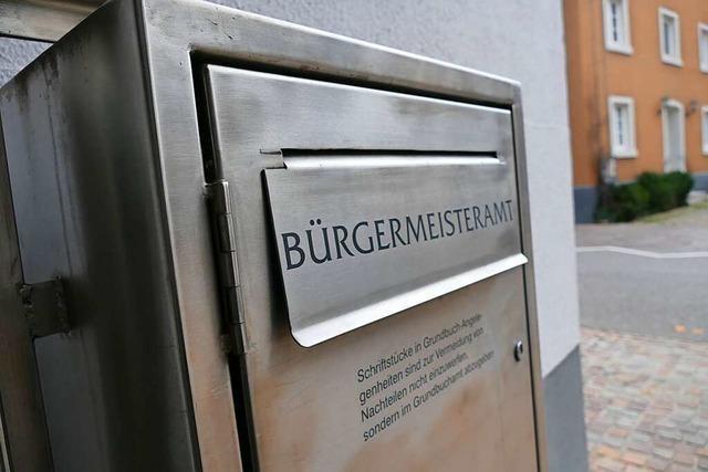 Bürgermeisterkandidaten Urs Kramer und Markus Biller stellen sich in Heitersheim vor