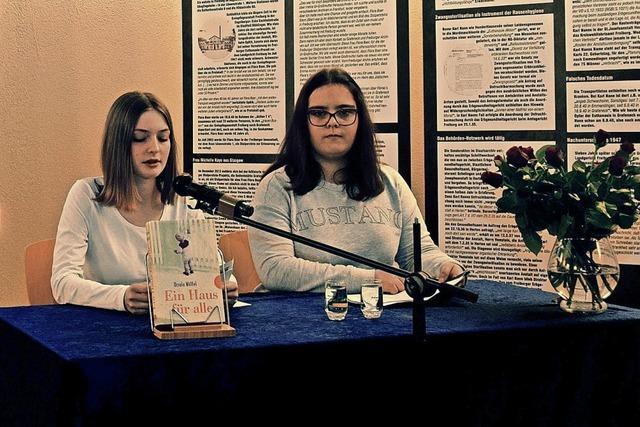 Schüler lasen Opfer-Texte