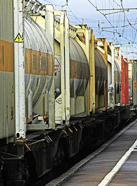 Einige Gundelfinger fühlen sich durch Bahnlärm gestört.   | Foto: Siegfried Gollrad