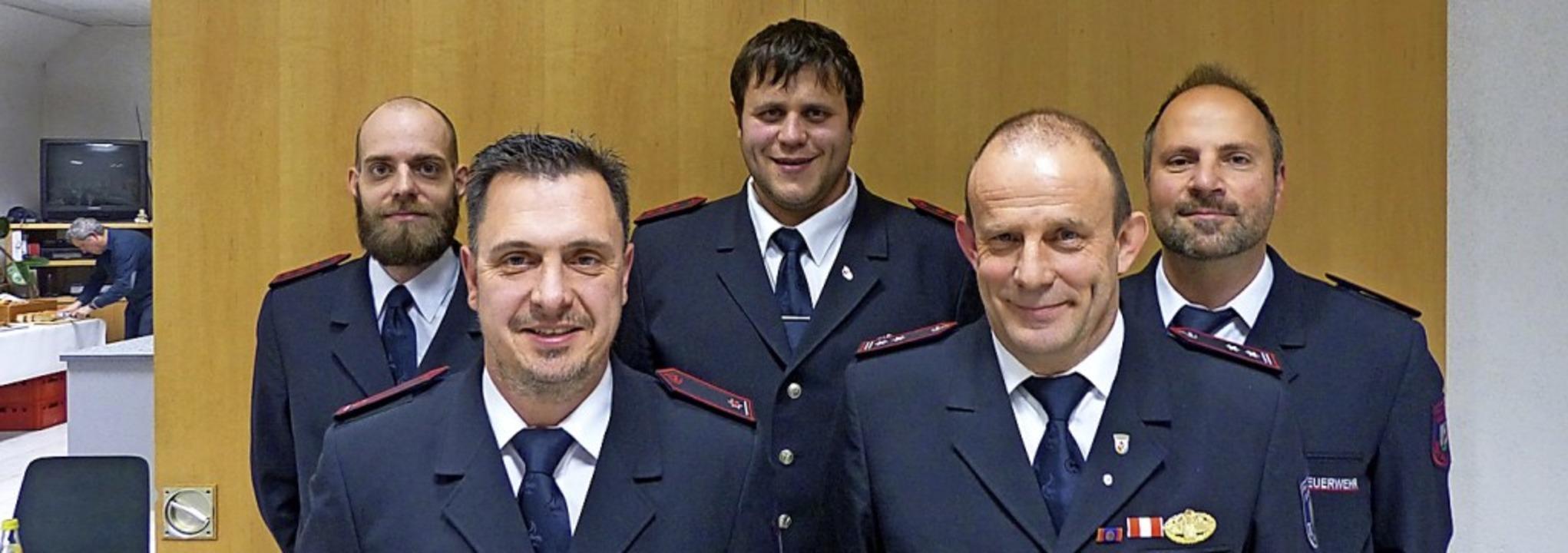 Schriftführer Thomas Mäder, Abteilungs...nd Kassierer Michael Gruß (von links)   | Foto: Anika Lenke