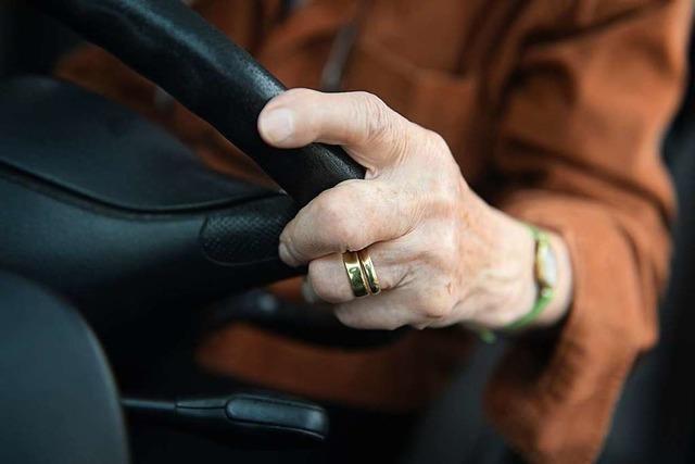 Warum sich Senioren nicht mehr ans Steuer setzen