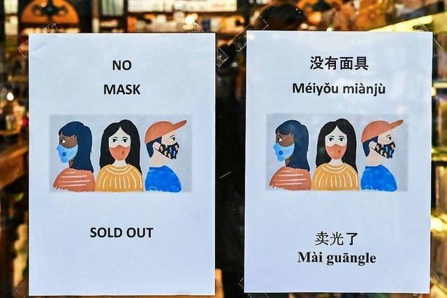 Südbadische Firmen streichen Reisen nach China