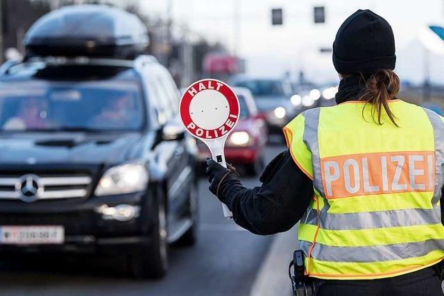 Zahl der illegalen Grenzübertritte aus der Schweiz geht zurück