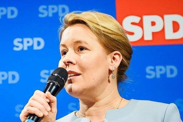 Giffeys nächster Anlauf an die Spitze der SPD