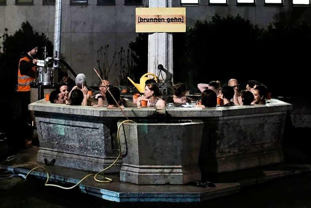 Mehr als nur ein Schmuckstück:  Eine B...tzenbrunnen, ein zum öffentlichen Bad.  | Foto: DOMINIK DOBER/HOTEL REGINA