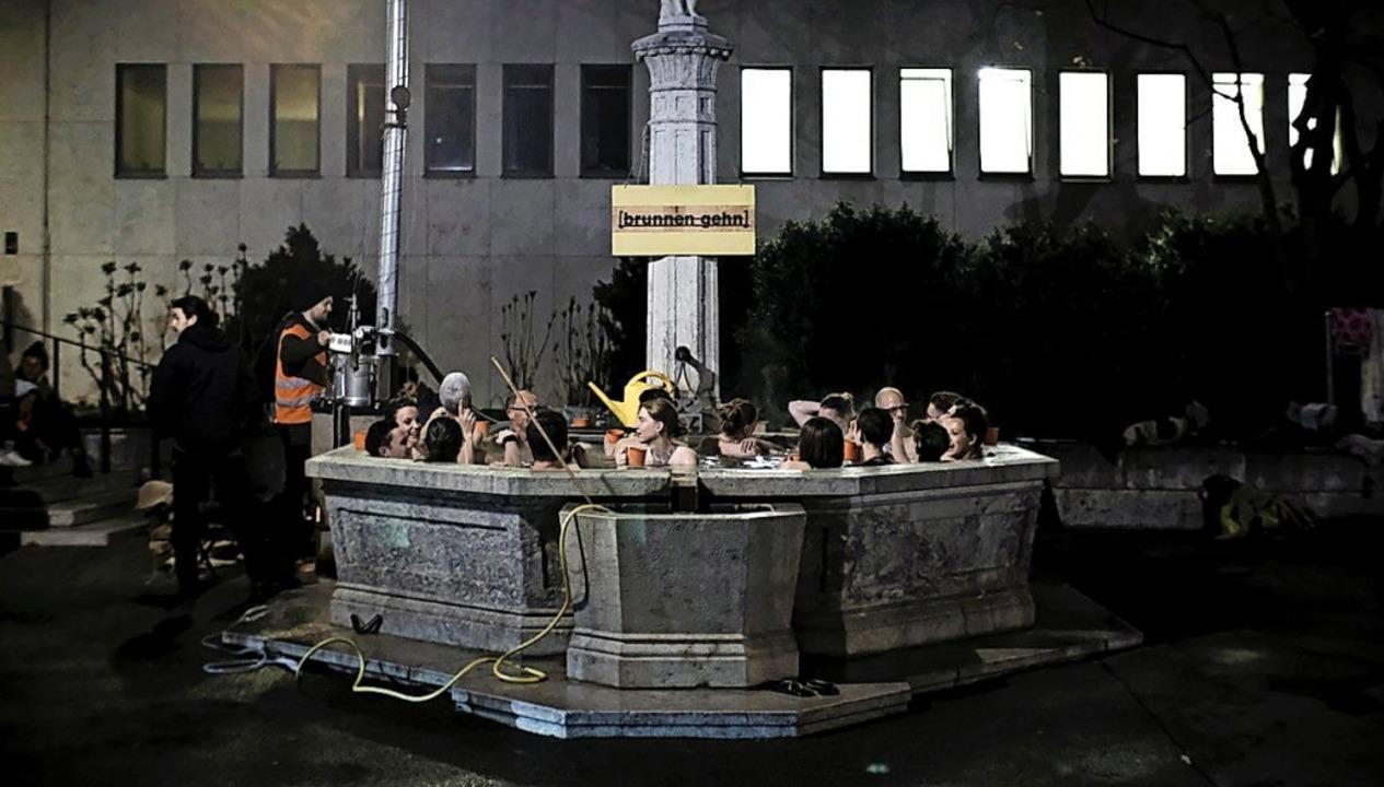 Mehr als nur ein Schmuckstück:  Eine B...tzenbrunnen, ein zum öffentlichen Bad.    Foto: DOMINIK DOBER/HOTEL REGINA