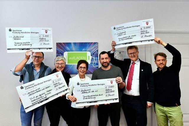 28 soziale Projekte aus Freiburg erhalten insgesamt 110.000 Euro
